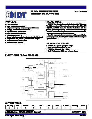IDTCV107E image
